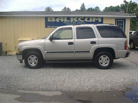 2005 chevrolet tahoe for sale wilmington nc. Black Bedroom Furniture Sets. Home Design Ideas