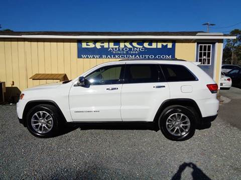 2014 jeep grand cherokee for sale in wilmington nc. Black Bedroom Furniture Sets. Home Design Ideas