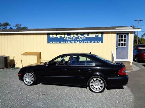 Mercedes benz e class for sale in wilmington nc for Oceanside motor company wilmington nc