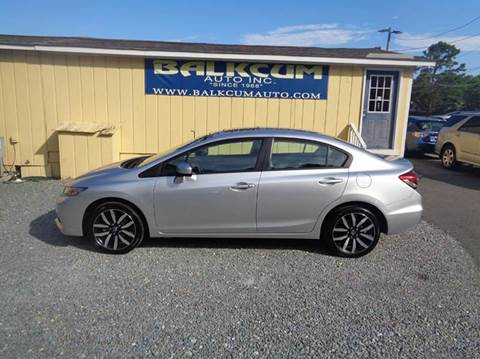 Honda Civic Wilmington Nc >> Honda Civic For Sale In Wilmington Nc Carsforsale Com
