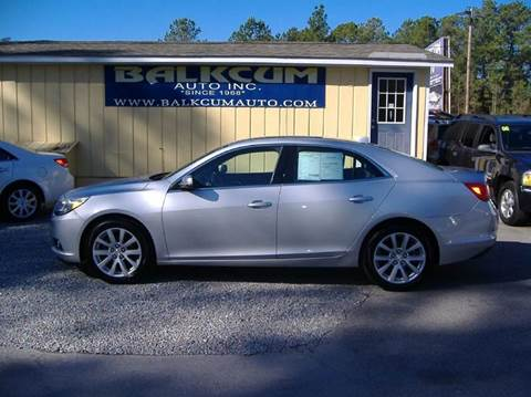 2013 Chevrolet Malibu for sale in Wilmington, NC