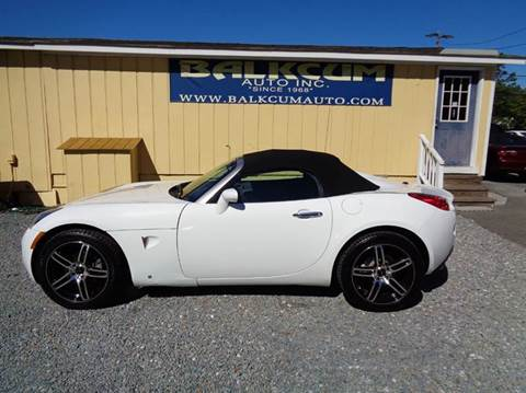 2007 Pontiac Solstice for sale in Wilmington, NC