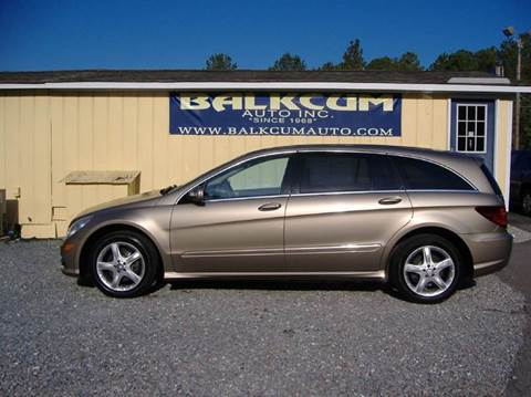 Mercedes benz r class for sale north carolina for Mercedes benz r350 for sale