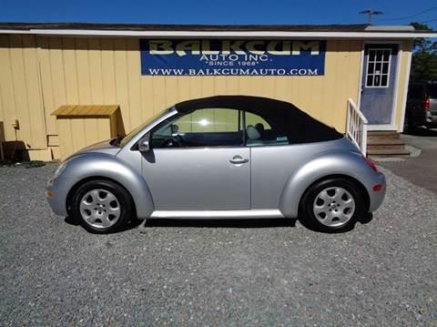 2003 Volkswagen New Beetle for sale in Wilmington, NC