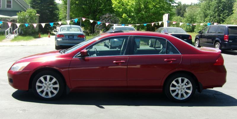2007 Honda Accord EX-L V-6 4dr Sedan (3L V6 5A) - Auburn NH