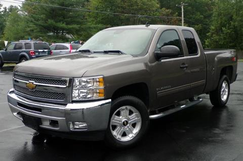 2012 Chevrolet Silverado 1500 for sale in Auburn, NH