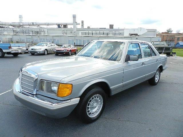 1982 Mercedes-Benz 300-Class 4dr 300 SD Turbodiesel Sedan - Kernersville NC