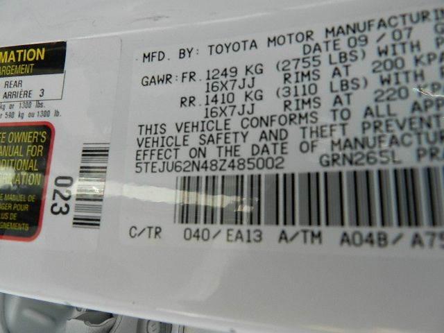 2008 Toyota Tacoma 4x2 PreRunner V6 4dr Double Cab 5.0 ft. SB 5A - Kernersville NC