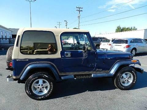 1990 Jeep Wrangler For Sale in North Carolina - Carsforsale.com®