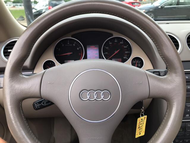 2003 Audi A4 2dr 1.8T Turbo Convertible - Eau Claire WI