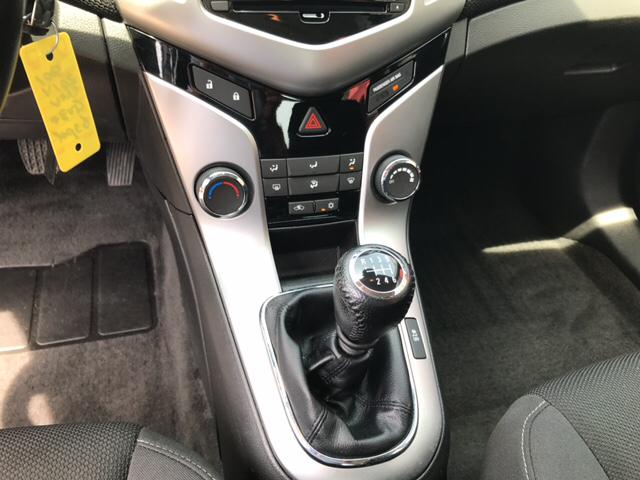 2014 Chevrolet Cruze 1LT Manual 4dr Sedan w/1SC - Eau Claire WI