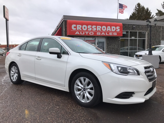 2015 subaru legacy awd premium 4dr sedan in eau claire wi crossroads auto sales. Black Bedroom Furniture Sets. Home Design Ideas