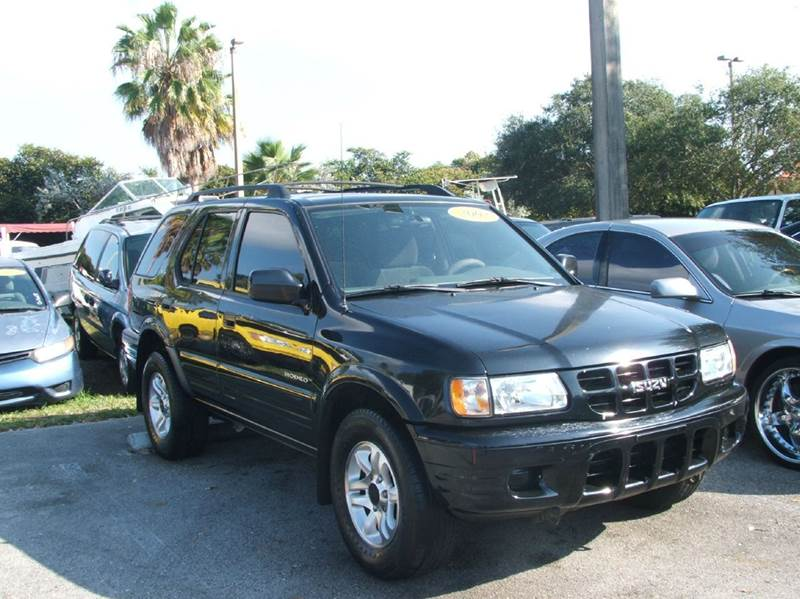 2002 isuzu rodeo ls 2wd 4dr suv in hollywood fl dan 39 s. Black Bedroom Furniture Sets. Home Design Ideas