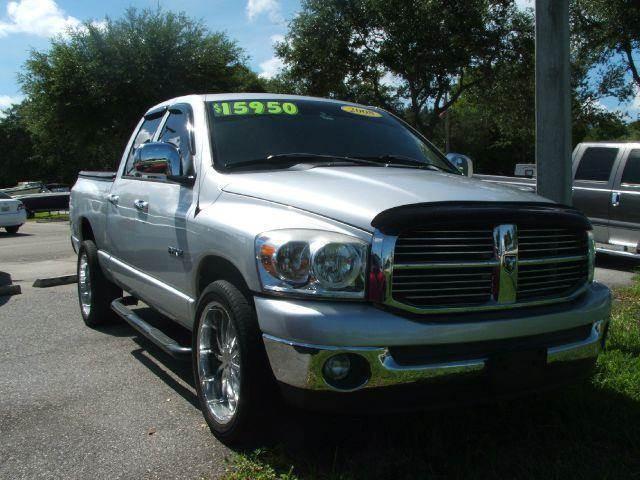 2008 dodge ram pickup 1500 slt pickup quad cab short bed 4dr rwd in hollywood fl dan 39 s deals. Black Bedroom Furniture Sets. Home Design Ideas