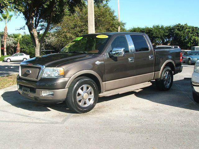 2005 ford f 150 lariat supercrew 2wd in hollywood fort. Black Bedroom Furniture Sets. Home Design Ideas