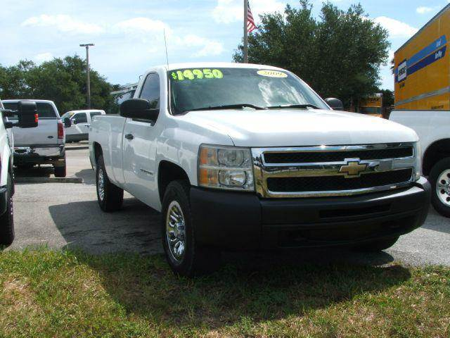2009 chevrolet silverado 1500 work truck long box 4wd in hollywood fl dan 39 s deals on wheels. Black Bedroom Furniture Sets. Home Design Ideas