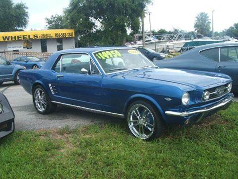 1966 Ford Mustang for sale in Davie, FL