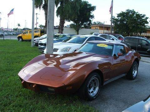 1977 Chevrolet Corvette for sale in Davie, FL