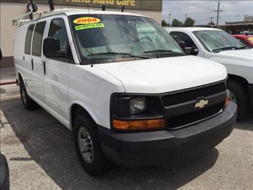 Used Chevrolet Express Cargo For Sale Oklahoma