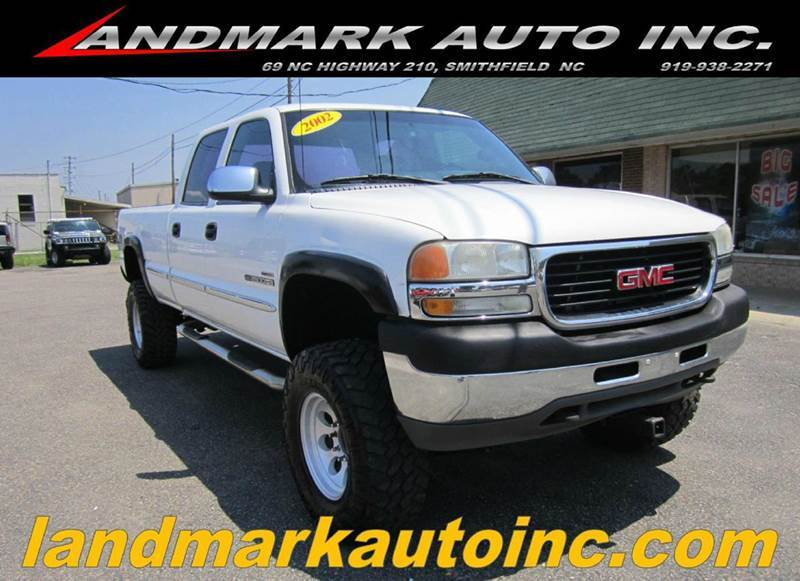 2002 GMC Sierra 2500HD