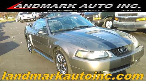 2002 Ford Mustang for sale in Smithfield, NC