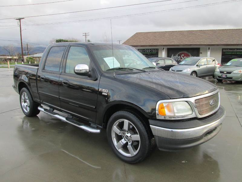2002 ford f 150 xlt 4dr supercrew 2wd styleside sb in. Black Bedroom Furniture Sets. Home Design Ideas