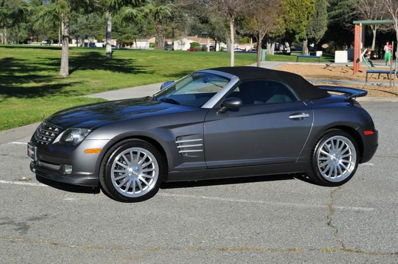 2005 chrysler crossfire srt 6 2dr roadster in banning ca auto source. Black Bedroom Furniture Sets. Home Design Ideas