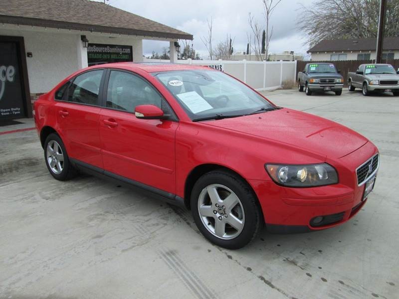 2005 volvo s40 t5 awd 4dr turbo sedan in banning ca auto source. Black Bedroom Furniture Sets. Home Design Ideas