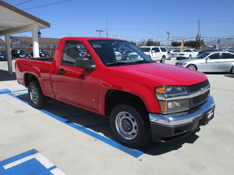 2007 chevrolet colorado ls 2dr regular cab sb in banning ca auto source. Black Bedroom Furniture Sets. Home Design Ideas