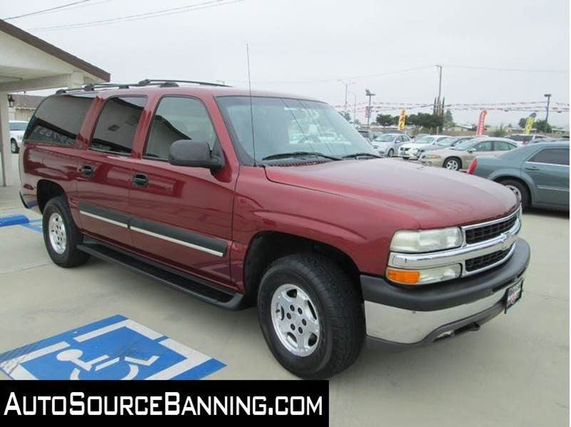 2002 chevrolet suburban 1500 ls 2wd 4dr suv in banning ca auto source. Black Bedroom Furniture Sets. Home Design Ideas