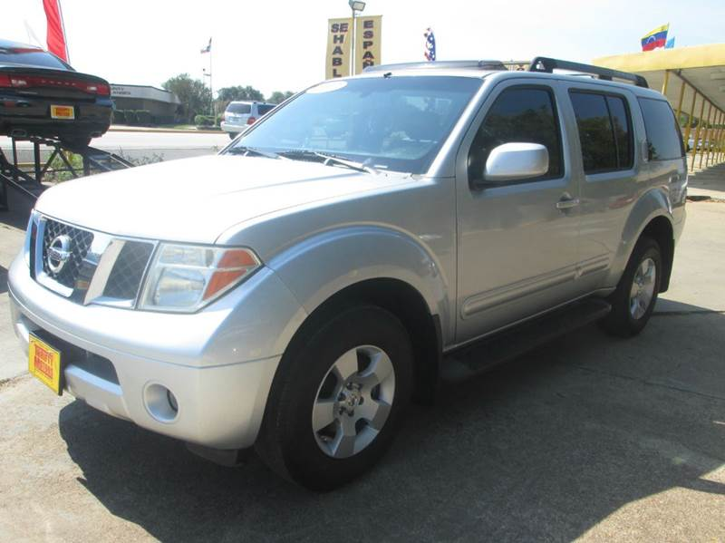 2007 nissan pathfinder le 4dr suv in houston tx thrifty. Black Bedroom Furniture Sets. Home Design Ideas