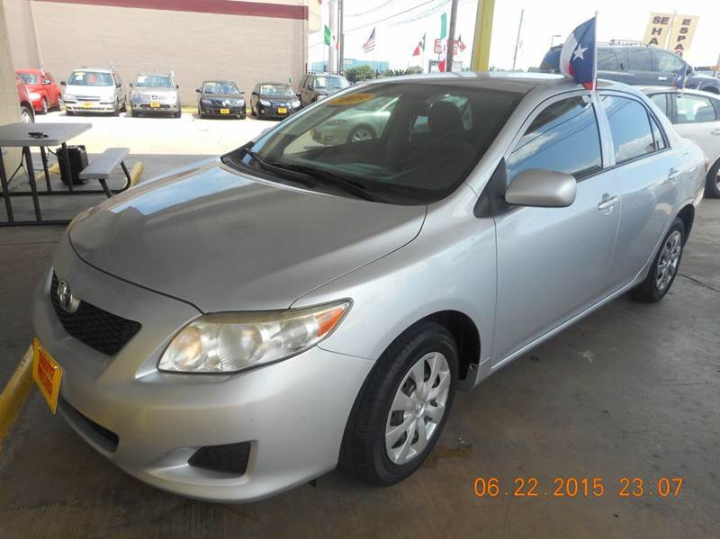 2009 toyota corolla le 4dr sedan 4a in houston tx for Thrifty motors houston tx 77084