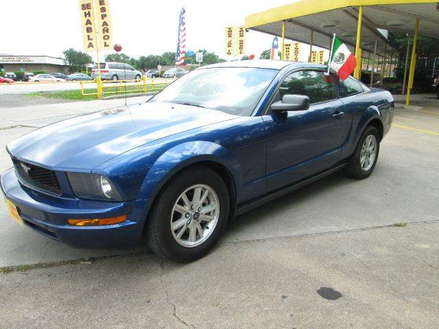 2008 ford mustang v6 deluxe coupe in houston alief barker for Thrifty motors houston tx 77084