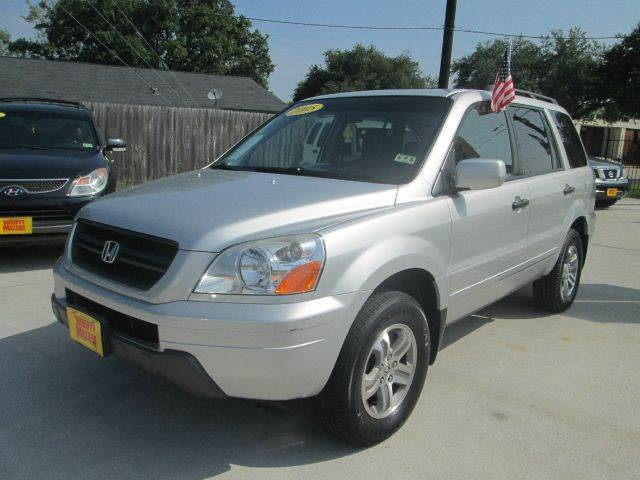 2005 honda pilot ex l 4wd 4dr suv w leather and for Thrifty motors houston tx 77084