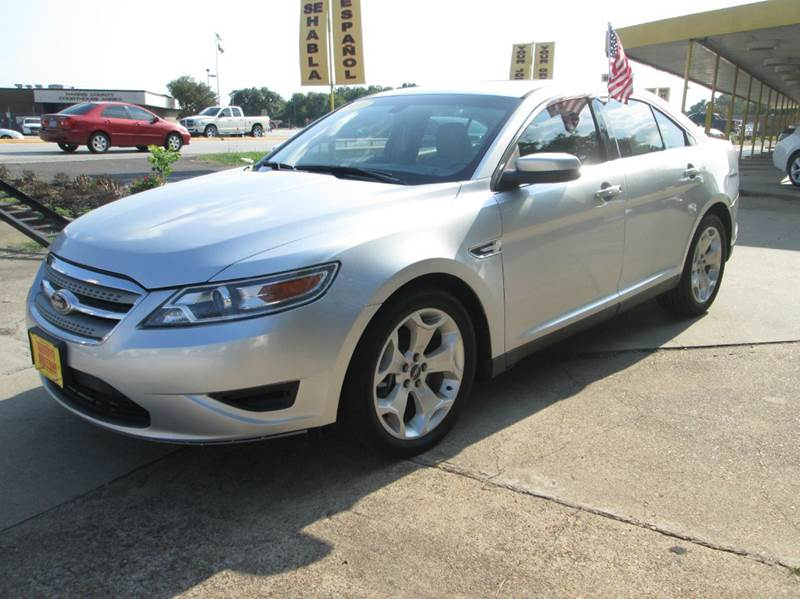 2010 ford taurus sel 4dr sedan in houston tx thrifty for Thrifty motors houston tx 77084