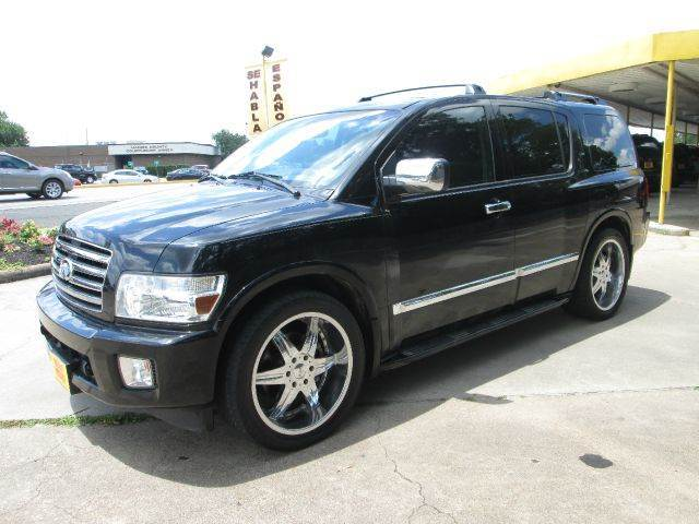 2006 infiniti qx56 4dr suv in houston tx thrifty motors inc for Thrifty motors houston tx 77084