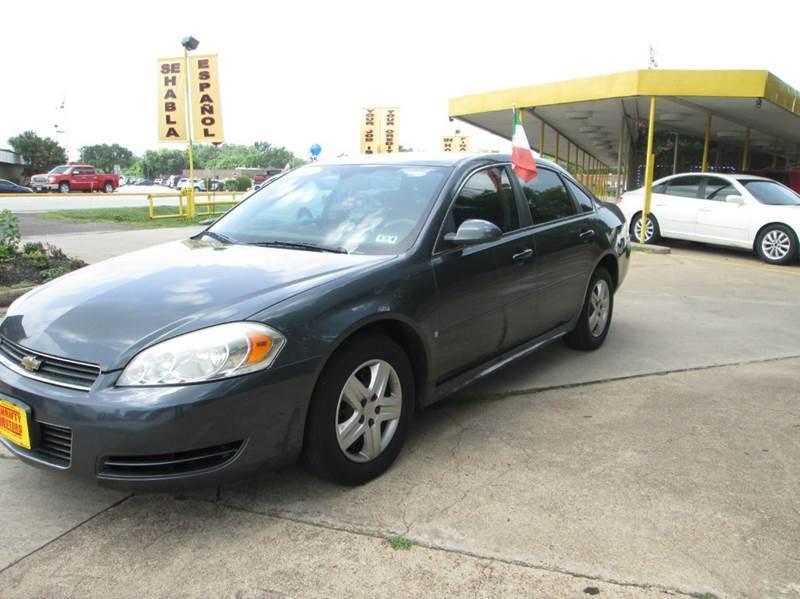 2009 Chevrolet Impala Ls 4dr Sedan In Houston Alief Barker