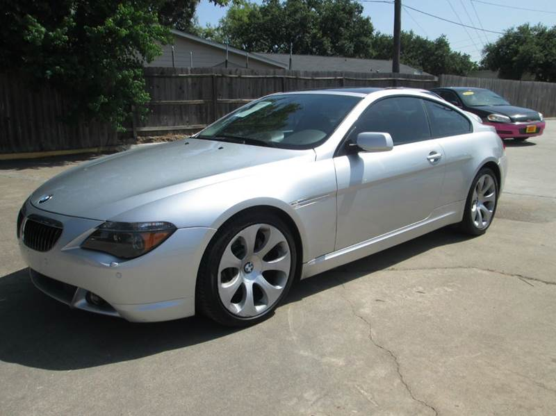 2005 bmw 6 series 645ci 2dr coupe houston tx. Black Bedroom Furniture Sets. Home Design Ideas