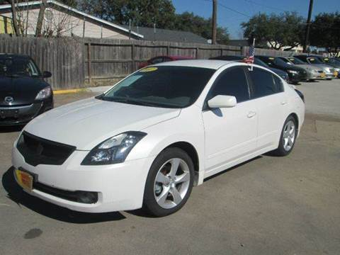2007 nissan altima for sale in houston tx. Black Bedroom Furniture Sets. Home Design Ideas
