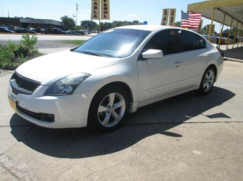 2007 nissan altima for sale houston tx. Black Bedroom Furniture Sets. Home Design Ideas