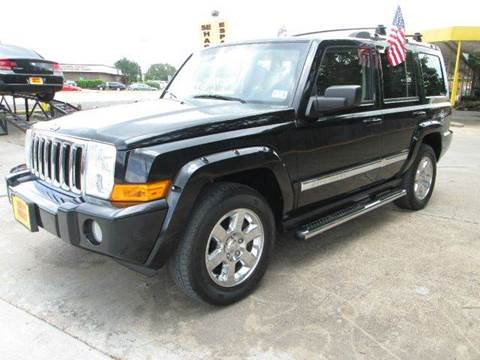 2006 jeep commander for sale in houston tx. Cars Review. Best American Auto & Cars Review