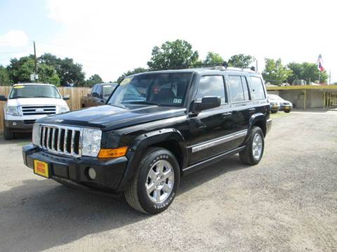 jeep commander for sale houston tx. Black Bedroom Furniture Sets. Home Design Ideas