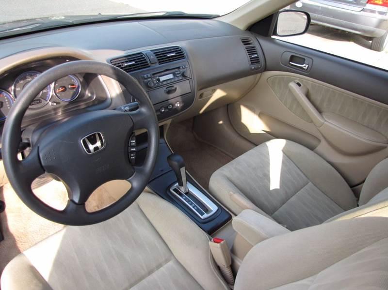 2005 Honda Civic LX 4dr Sedan - Somers CT