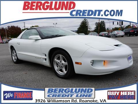 2002 Pontiac Firebird for sale in Roanoke, VA