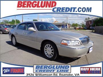 2006 Lincoln Town Car for sale in Roanoke, VA