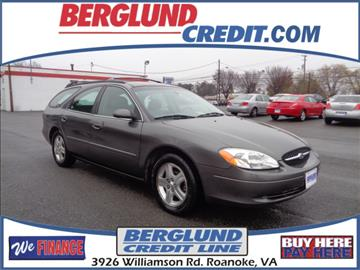 2002 Ford Taurus for sale in Roanoke, VA