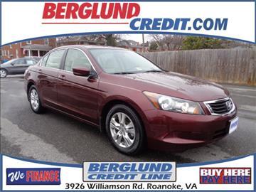 2008 Honda Accord for sale in Roanoke, VA