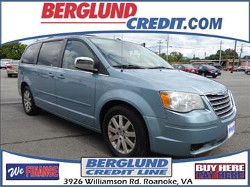 2008 Chrysler Town and Country for sale in Roanoke, VA