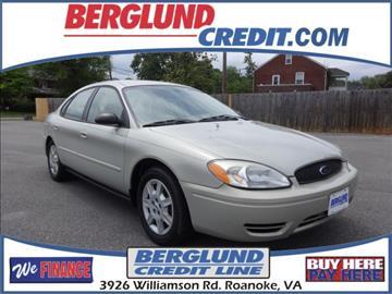 2006 Ford Taurus for sale in Roanoke, VA