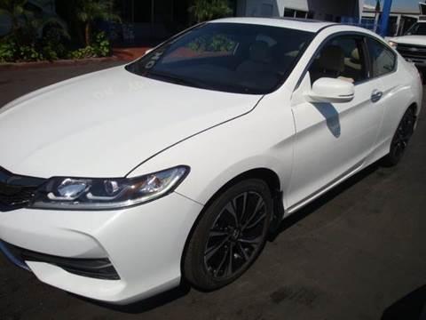 2016 Honda Accord for sale in Buena Park, CA